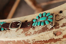 Large Turquoise Cluster by Wild Horse Watchin Bands