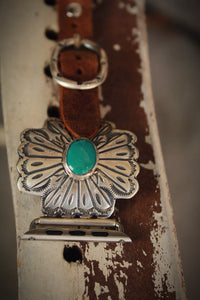 Cross W/ Turquoise by Wild Horse Watchin' Bands