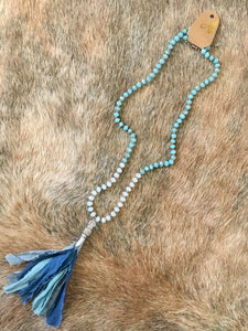 Blue Envy Necklace