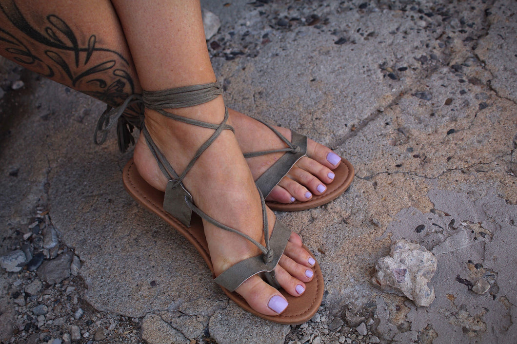 All Laced Up Sandal