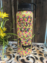"""Let's Just Go!"" Water Bottle"