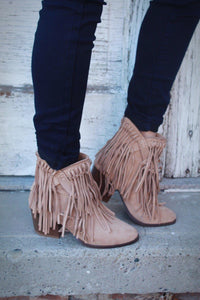 Renegade Fringe Booties