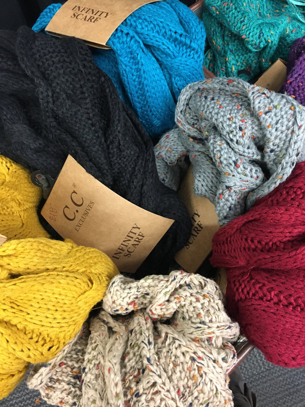 Infinity Scarf - Assorted