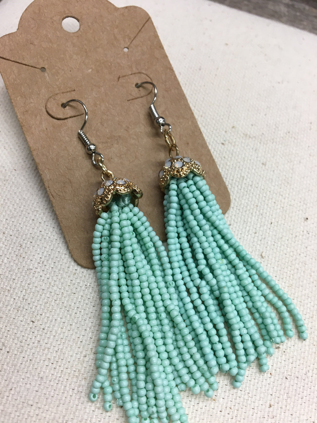 Dazzling Dream Beaded Earring