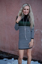Around the Block Colorblock Dress