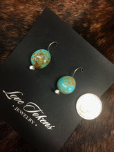 Love Tokens Turquoise Earrings