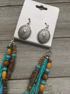 In Sight Necklace and Earring Set