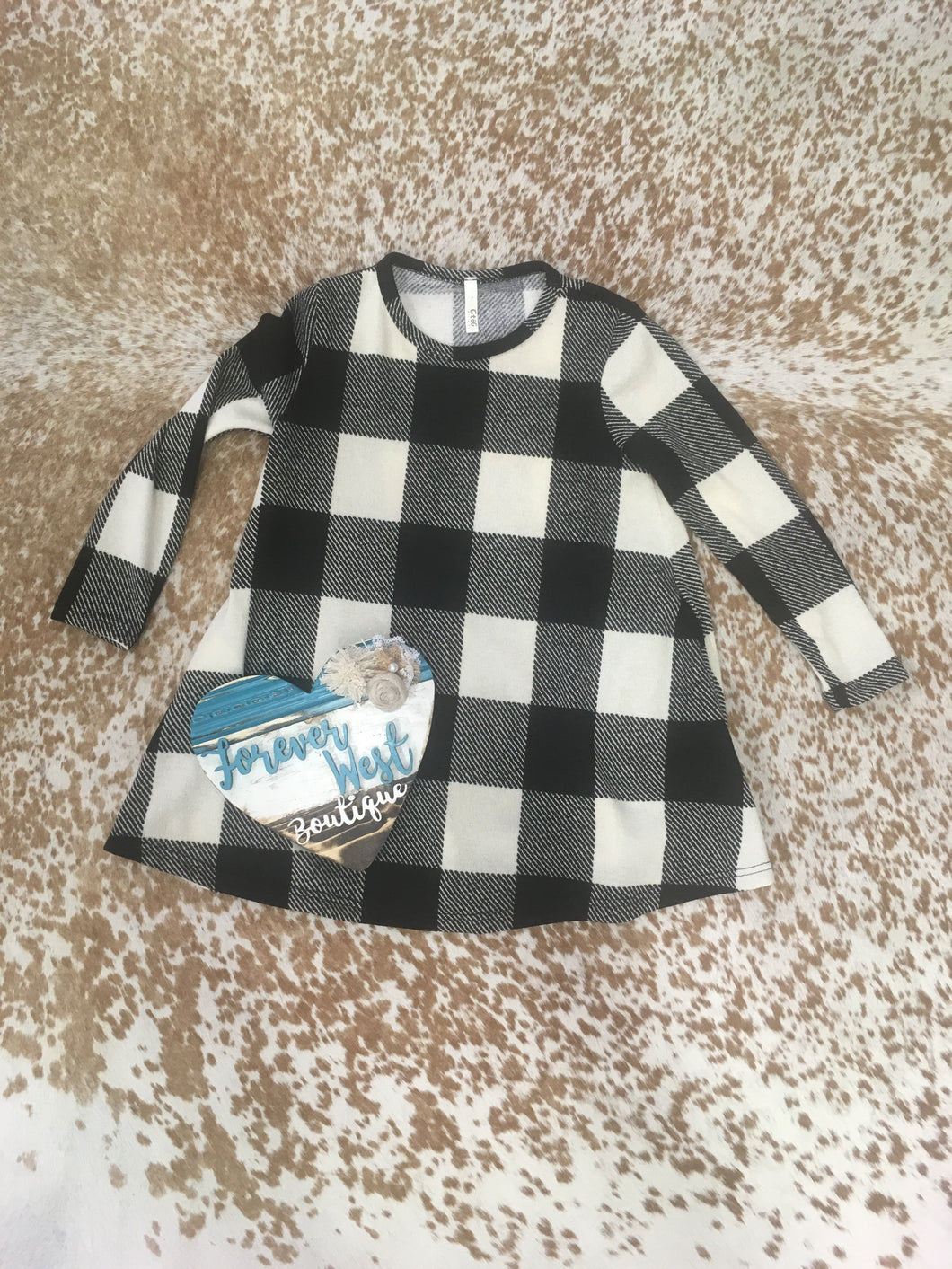 Plaidness Kids Sweater