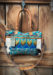 1968 Foxy Messenger Bag by Myra