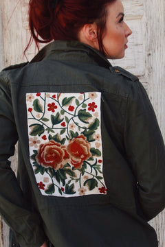 All Patched Up Utility Jacket