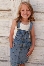 To the Stars Denim Overall Dress