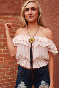 Danni Jo Designs Sunflower Necklace