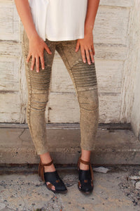 Russian Olive Jeggings