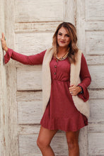 My Burgundy Love Dress