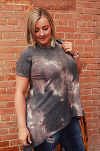 Up in Smoke Tunic Top
