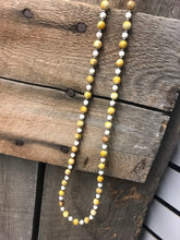 Yellow Agate Necklace