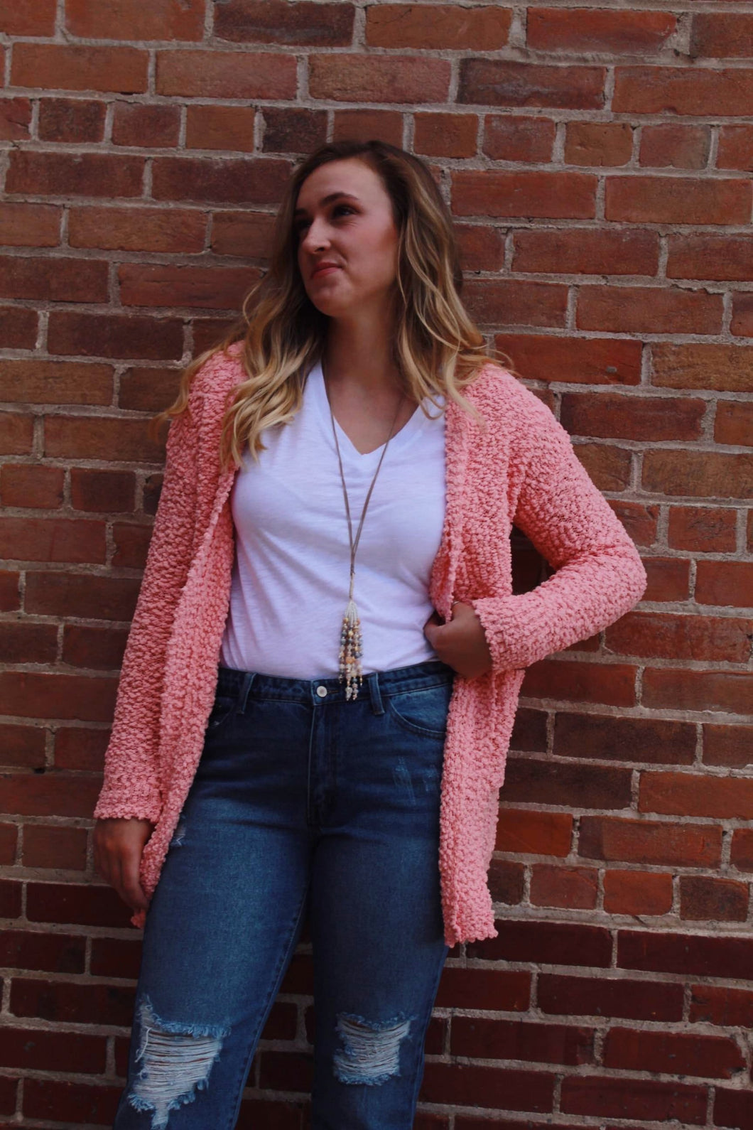 That Pop! Cardigan