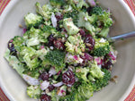 Broccoli Salad Recipe - Fast, versatile, delicious, easy and crowd pleasing!