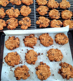Gluten-Free Peanut Butter Chocolate Chip Cookies!