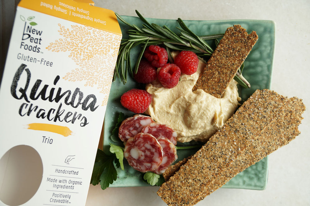 Trio Quinoa Crackers