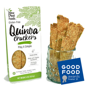 Play It Simple Quinoa Crackers