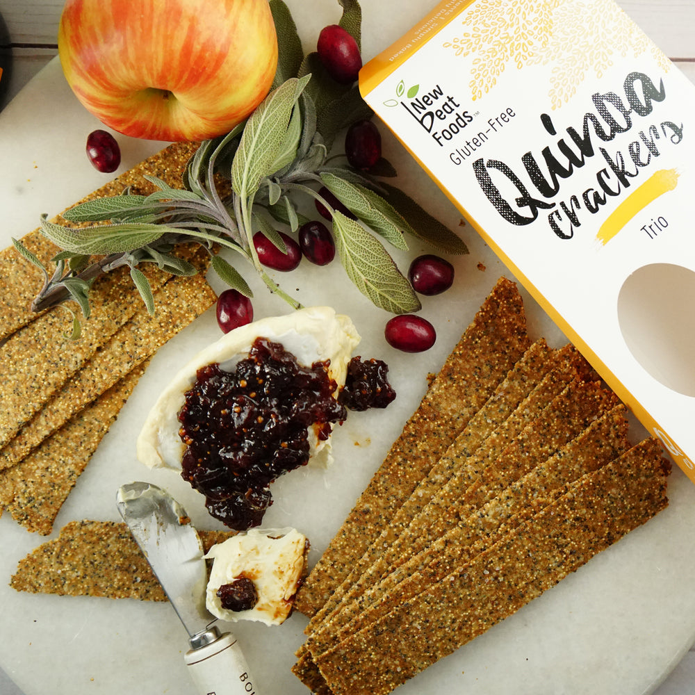 Load image into Gallery viewer, Trio Quinoa Crackers