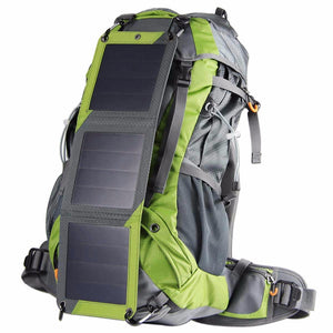2017 New! 53L Travel Solar Backpack Outdoor Mountaineering bags With 10W Solar Panel For Phones Camera Camping Travel Knapsack