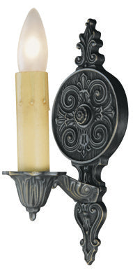 Iron Single Interior Sconce