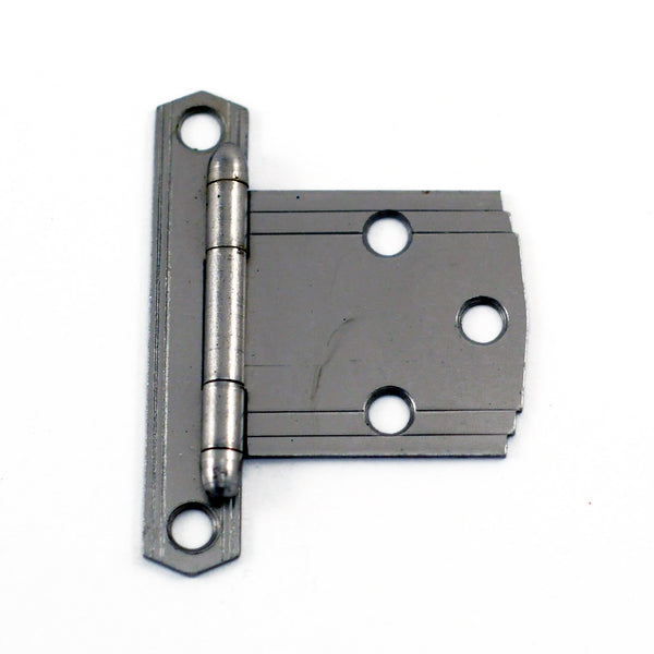 Deco Cabinet Hinge - Silver