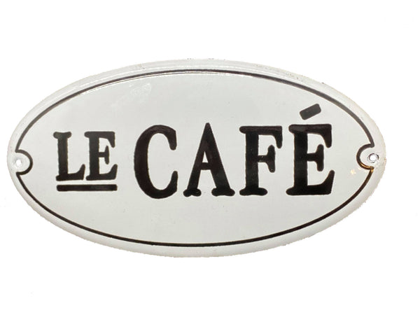 Le Cafe Sign