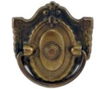 Victorian Single Hole Drop Pull