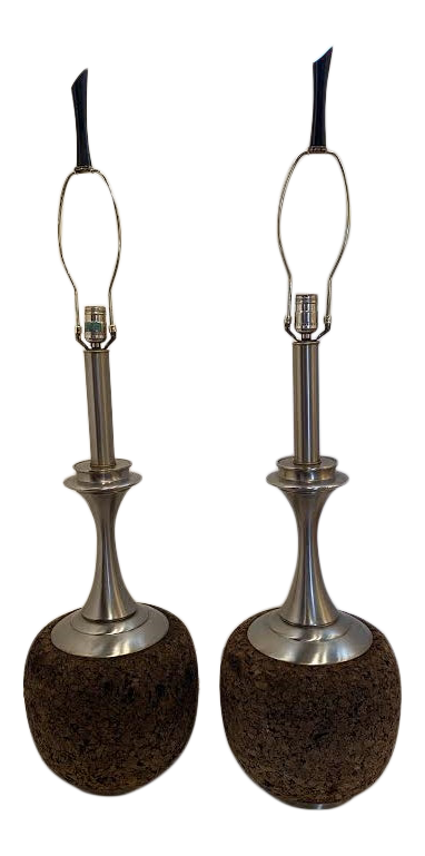 Pair of Table Lamps by Laurel Lighting