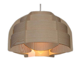 Medium Danish Wooden Light