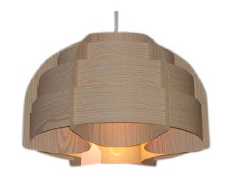 Small Danish Wooden Light