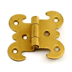Brass Icebox Hinge
