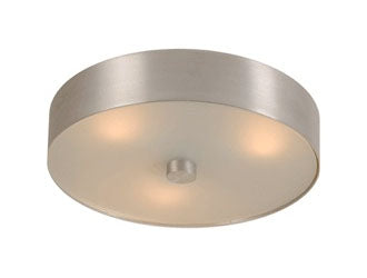 Aluminum and Glass Light Fixture