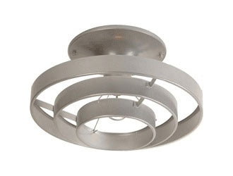 Concentric Circle Light Fixture