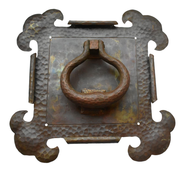 Brass Hammered Door Knocker