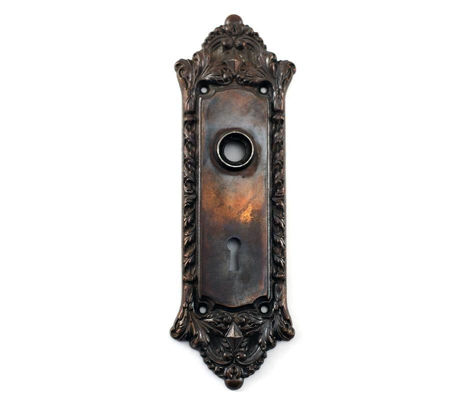 victorian doorplate