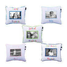 Load image into Gallery viewer, Keepsake Photo Autograph Pillow with 4x6 Photo