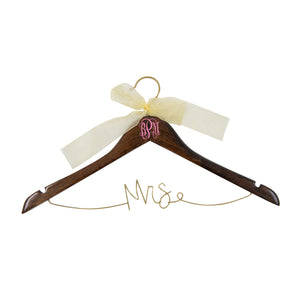 Mrs. Wedding Hanger