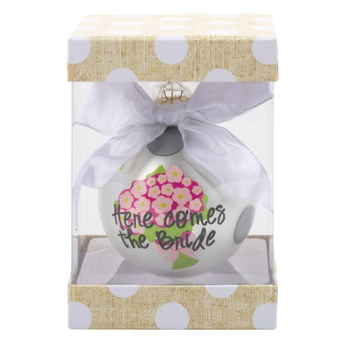 Bridal Frosted Ornament-