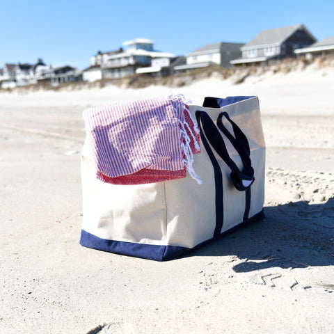 Lifestyle view of our Canvas Big Tote