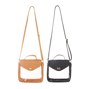 Clear Stadium Envelope Crossbody