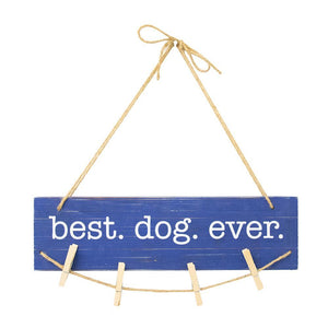 Front view of our Best Dog Ever Clip Frame