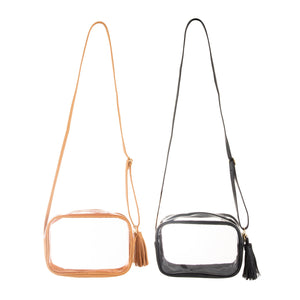 Clear Stadium Rectangle Crossbody