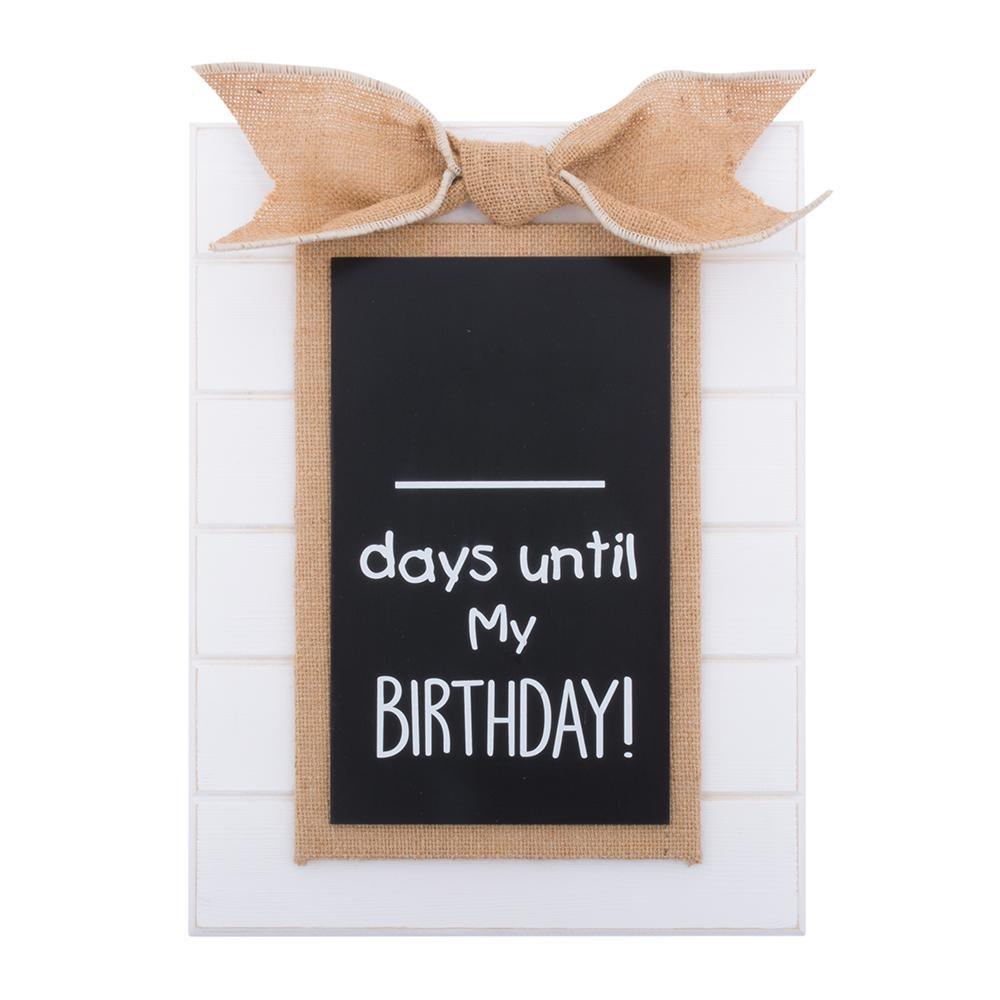 Birthday Countdown Chalkboard