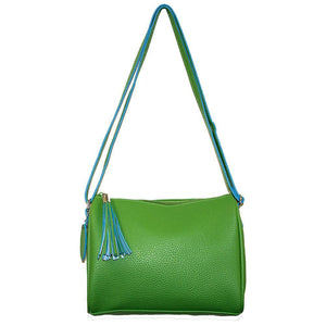 Lime Spring Chic Crossbody