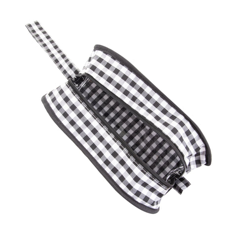 Gingham Kentucky Cosmetic Bag