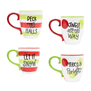 Holiday Ceramic Coffee Mugs